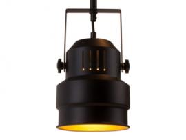 Hanglamp studio zwart/goud