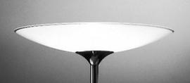 Glas Schaal wit S.