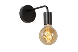 Wandlamp boog zwart
