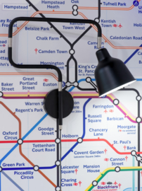 Wandlamp LONDON zwart