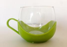 Theeglas groen