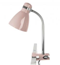 "Cliplamp ""Study"" roze"