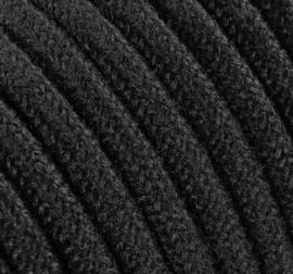 Textielsnoer zwart RAW