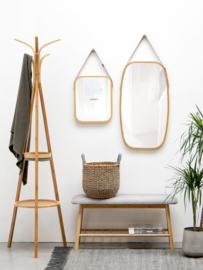 Bankje bamboe - canvas