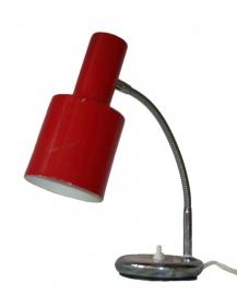 Bureaulampje rood