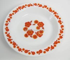 Arcopal bord diep Lotus kleine bloem