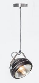 Hanglamp Koplamp zwart