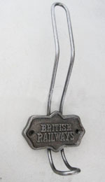 Rail hook metaal