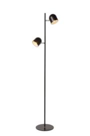 Vloerlamp Ska zwart