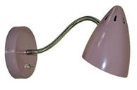 Wandlamp WQ Retro d. roze/lila