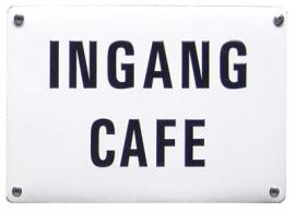 Ingang cafe
