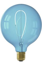 Globe 125mm Blauw LED