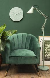 Scharnier- vloerlamp groen