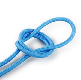 Textielsnoer blauw