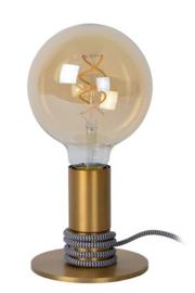 Tafellamp mat goud
