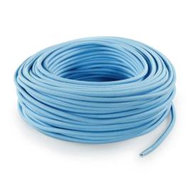 Textielsnoer l.blauw