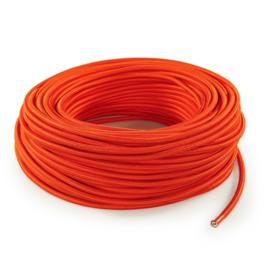 Textielsnoer oranje