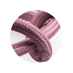Textielsnoer lila