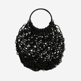 Jute tas zwart Madam Stoltz