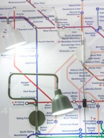 Wandlamp LONDON wit