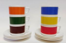 Arcopal koffiekop Uni kleur