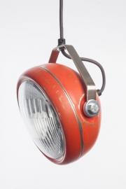 Hanglamp Koplamp rood