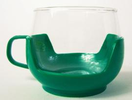 Theeglas groen (3x)