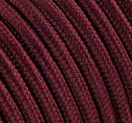 Textielsnoer bordeaux