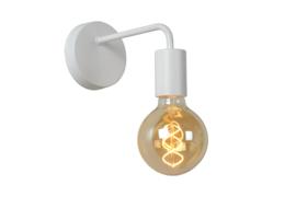 Wandlamp boog wit