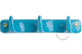 Porselein haak turquoise 3
