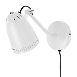 Dynamo wandlamp wit mat