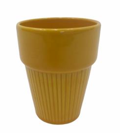 Beker geel