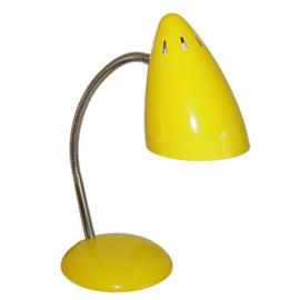 Bureaulamp retro geel