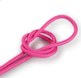 Textielsnoer knal roze