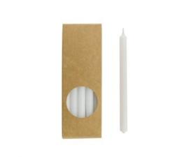 Set 20 kaarsen white D:12mm H:175mm