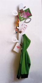 Kapstok Leaf wit XL