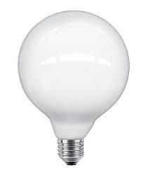 LED Globe 95mm 4W/40W opaal -DIM