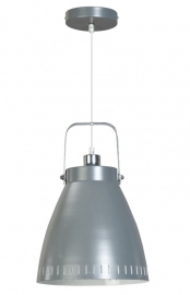 Hanglamp Aca grijs