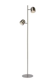 Vloerlamp Ska mat chroom