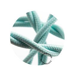 Textielsnoer gedraaid mint