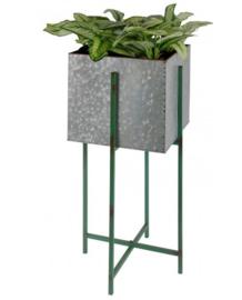 Plantenbak vierkant L op standaard.