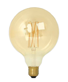 125MM 4W LED FILAMENT GLOBE GOLD -DIM