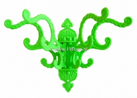 Waaierkapstokje groen