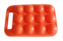 Eierdoosje oranje