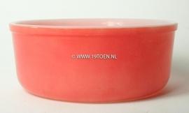 Arcopal schaal rood D 18,5 cm