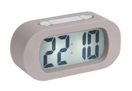 Alarm clock 'Gummy' grijs