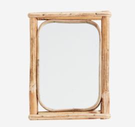 Spiegel bamboe Madam Stoltz