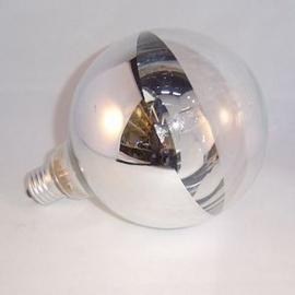 Bodemspiegel globelamp 125mm 40w
