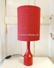 Tafellampje rood