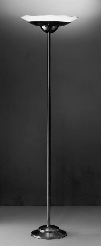 Vloerlamp Wolk met schaal (gezandstraald)
